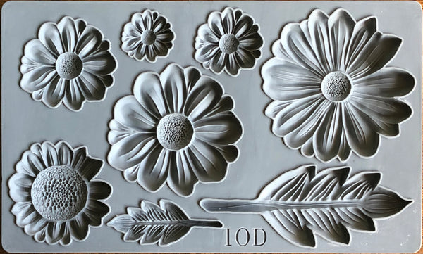 IOD He Loves Me Mould by Iron Orchid Designs Fall 2019 Release
