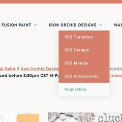 IOD Inspiration and Fusion Mineral Paint Inspiration