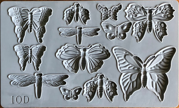 IOD Monarch Mould by Iron Orchid Designs Fall 2019 Release