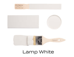 Lamp White Fusion Mineral Paint @ The Painted Heirloom