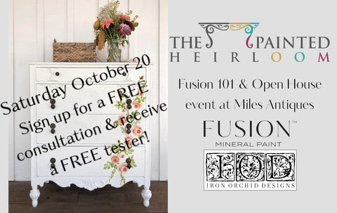 Fusion 101 Consultation and Open House