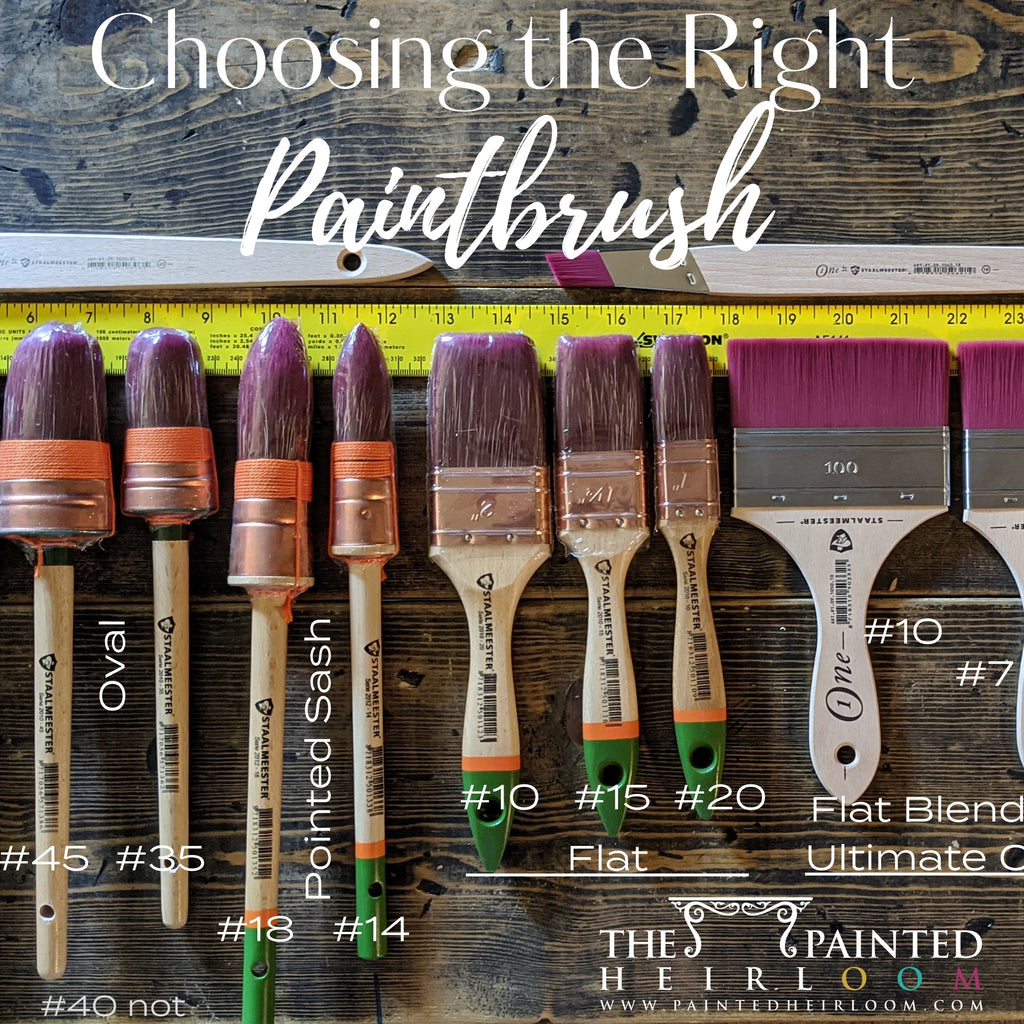How to Pick and Choose the Right Paintbrush for the DIY Furniture Project