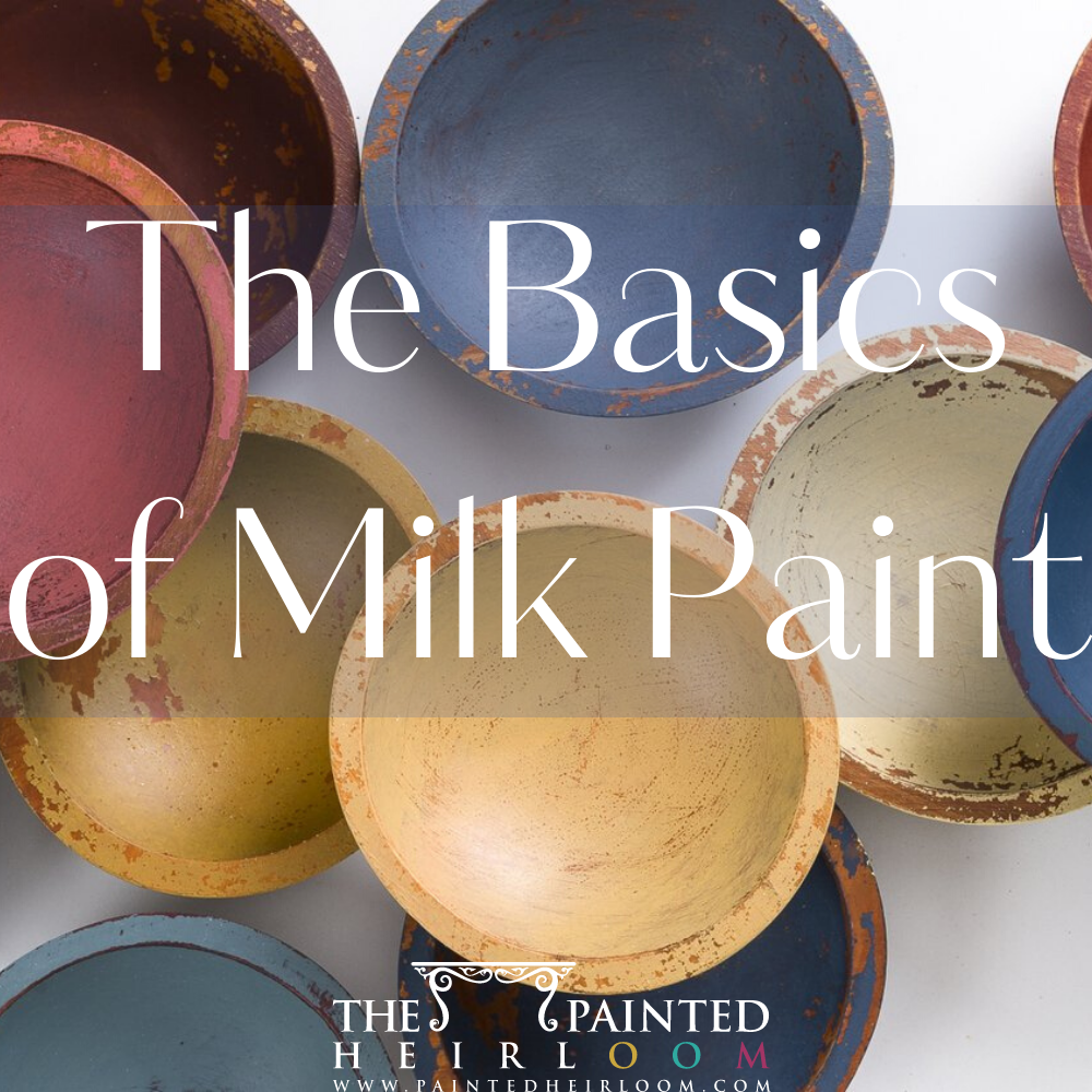 What is Milk Paint, How to Mix, Apply, and Seal