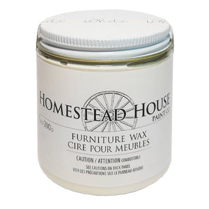 Homstead House White Furniture Wax by Fusion @ The Painted Heirloom