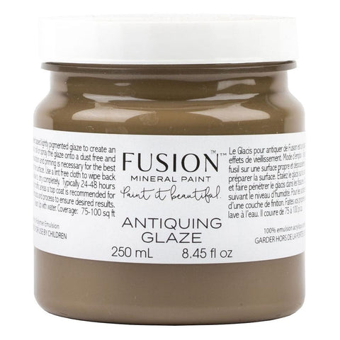 Fusion Mineral Paint Antiquing Glaze @ The Painted Heirloom