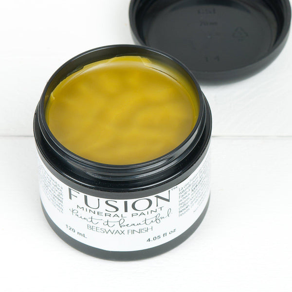 Fusion Mineral Paint Beeswax Hemp Finish @ The Painted Heirloom