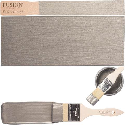 Fusion Mineral Paint Brushed Steel Metallic @ The Painted Heirloom