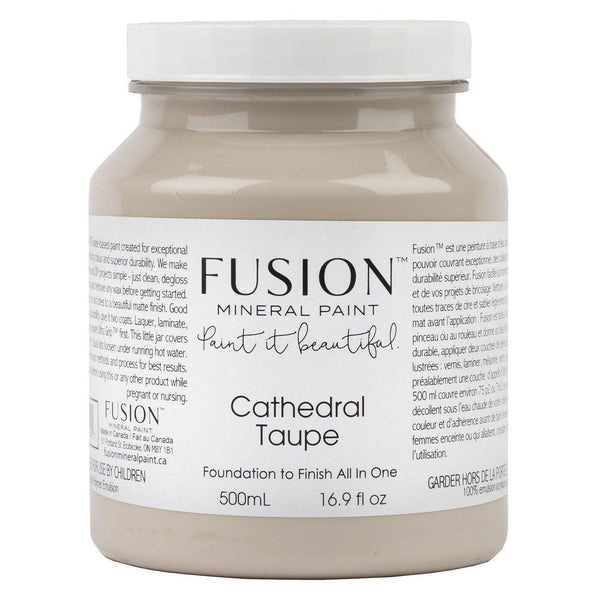Fusion Mineral Paint Cathedral Taupe @ The Painted Heirloom