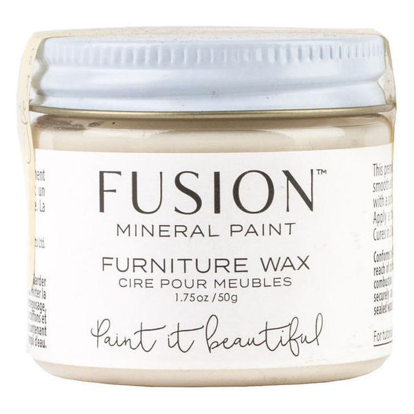 Fusion Mineral Paint Clear Furniture Wax @ The Painted Heirloom