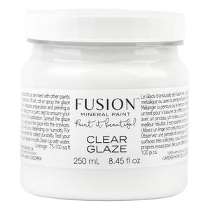 Fusion Mineral Paint Clear Glaze @ The Painted Heirloom