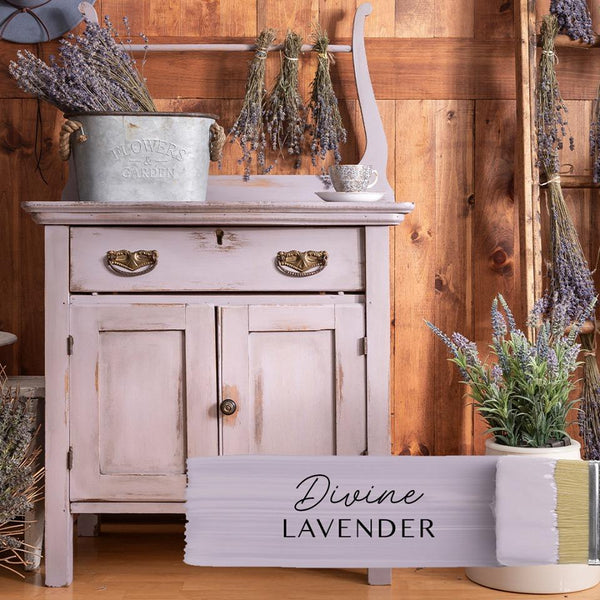 Fusion Mineral Paint Divine Lavender @ The Painted Heirloom