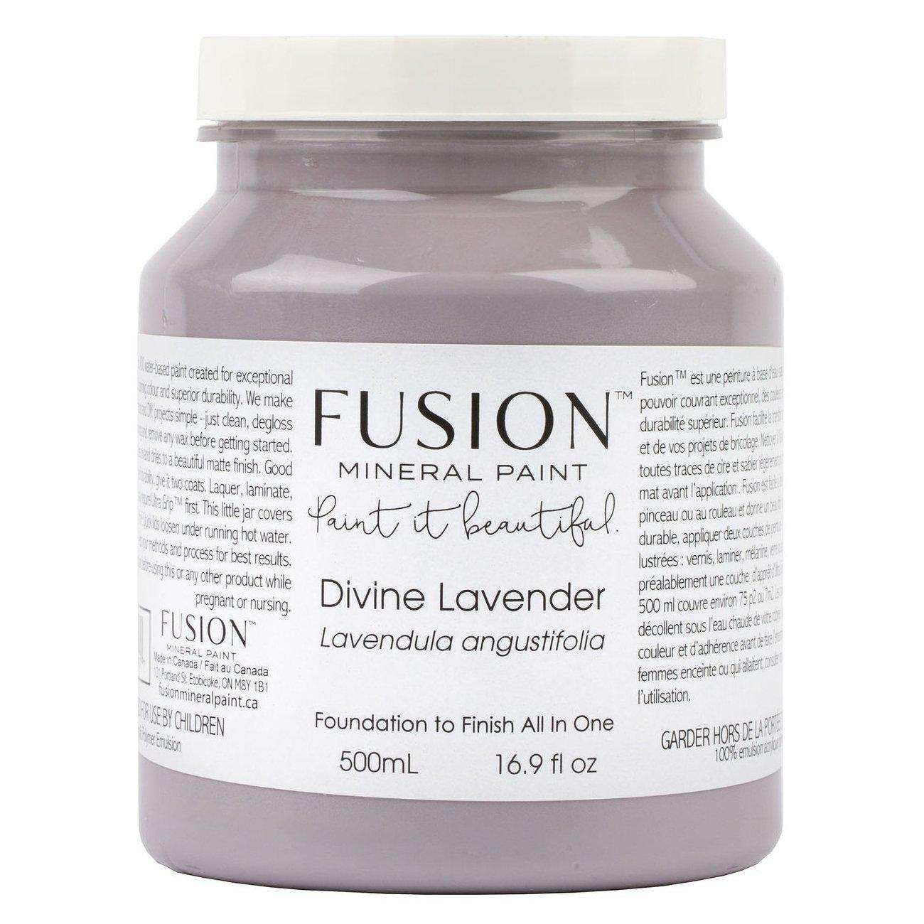 Divine Lavender Fusion Mineral Paint Pint - 500mL Bottle @ The Painted Heirloom