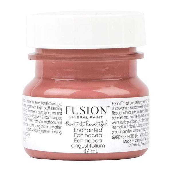 Enchanted Echinacea Fusion Mineral Paint 1.25 oz - 37mL Tester Bottle @ The Painted Heirloom
