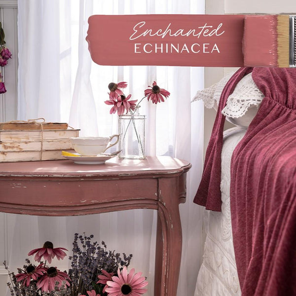 Fusion Mineral Paint Enchanted Echinacea @ The Painted Heirloom