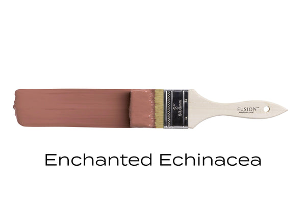 Enchanted Echinacea Fusion Mineral Paint brush stroke @ The Painted Heirloom