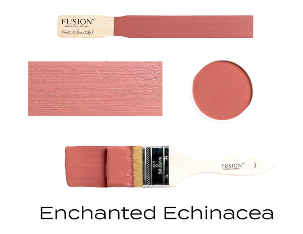 Enchanted Echinacea Fusion Mineral Paint stick block brush sample set @ The Painted Heirloom