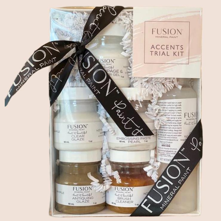Accents Trial Kit by Fusion Mineral Paint