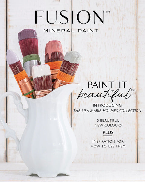 Fusion Mineral Paint Fusion DIY 60-page Magazine Featuring Lisa Marie Homes Collection @ The Painted Heirloom