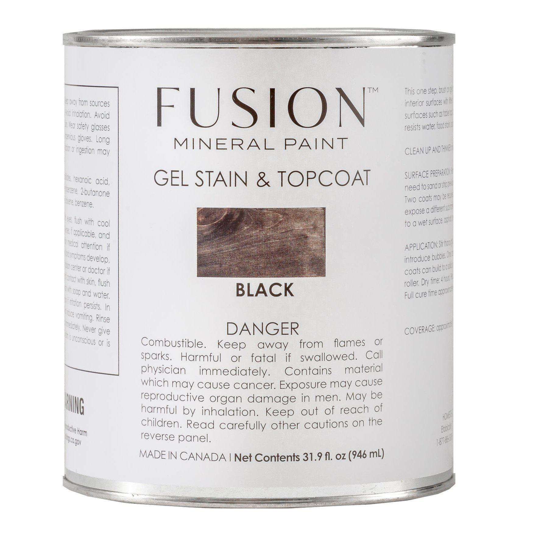 Fusion Gel Stain & Top Coat - All In One @ The Painted Heirloom