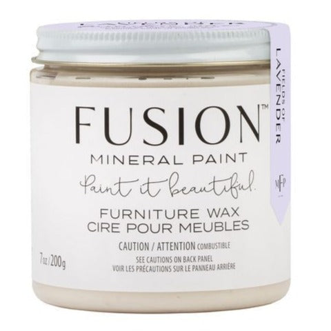 Scented Clear Wax - 200g - by Fusion Mineral Paint