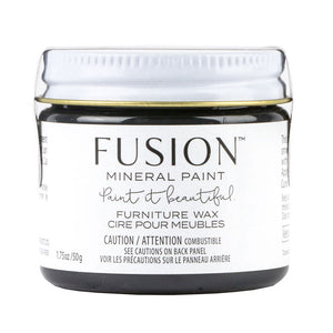 Black Furniture Wax by Fusion Mineral Paint