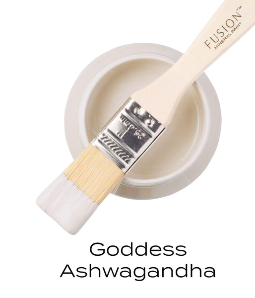 Goddess Ashwagandha Fusion Mineral Paint Pint with brush @ The Painted Heirloom