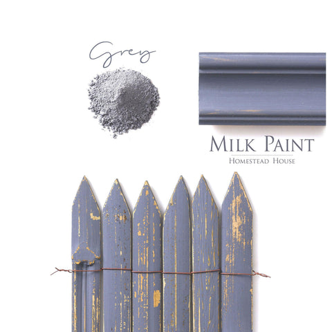 Grey Milk Paint