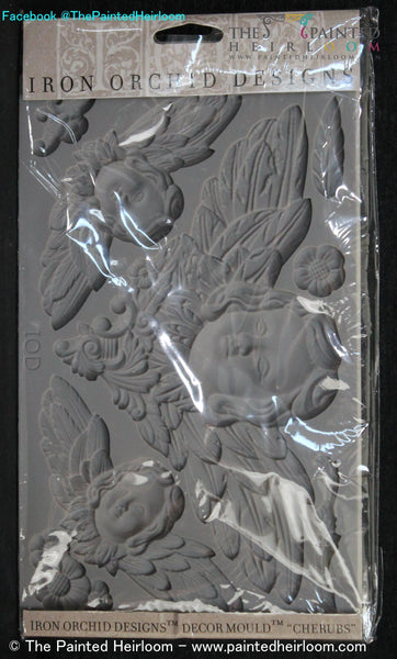 Buy I.O.D. Classical Cherubs Decor Mould by Iron Orchid Designs @ The Painted Heirloom