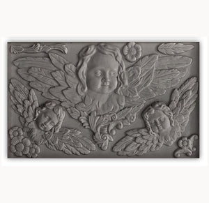 I.O.D. Classical Cherubs Decor Mould by Iron Orchid Designs @ The Painted Heirloom