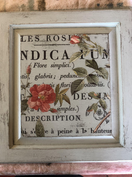 I.O.D. Le Petit Rosier Decor Transfer by Iron Orchid Designs @ The Painted Heirloom