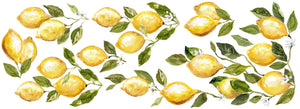 "Lemon Drops Decor Transfer (12""x33"") by Iron Orchid Designs"