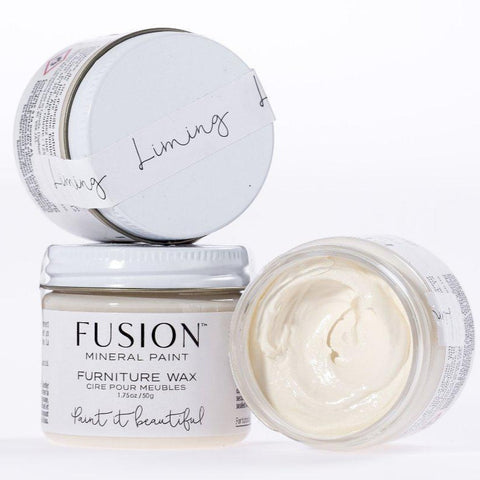 Fusion Mineral Paint Liming Furniture Wax @ The Painted Heirloom