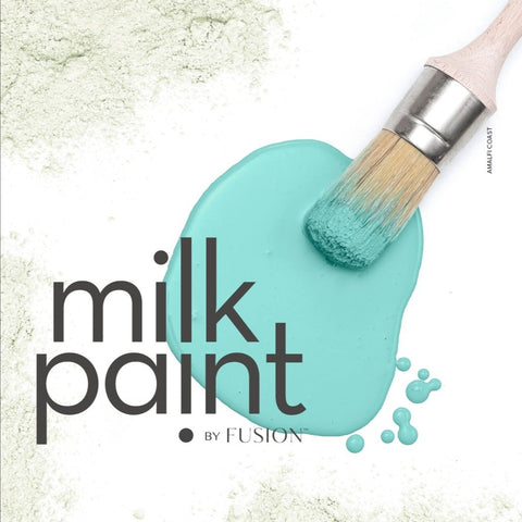 Milk Paint by Fusion Information Color Card @ The Painted Heirloom