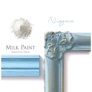 Niagara Green Milk Paint by Homestead House @ The Painted Heirloom