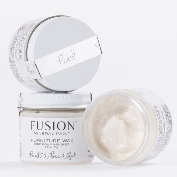 Fusion Mineral Paint Pearl Metallic Furniture Wax @ The Painted Heirloom