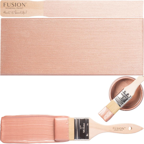 Fusion Mineral Paint Rose Gold Metallic @ The Painted Heirloom