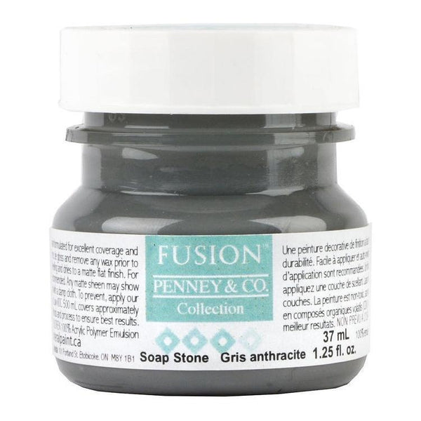 Fusion Mineral Paint Soap Stone @ The Painted Heirloom