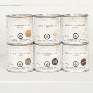 Fusion Mineral Paint Stain & Finishing Oil - All In One @ The Painted Heirloom