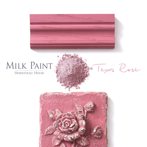 Texas Rose Milk Paint by Homestead House @ The Painted Heirloom