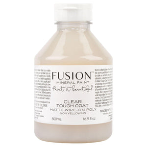 Fusion Mineral Paint Tough Coat Matte Wipe-On Poly @ The Painted Heirloom