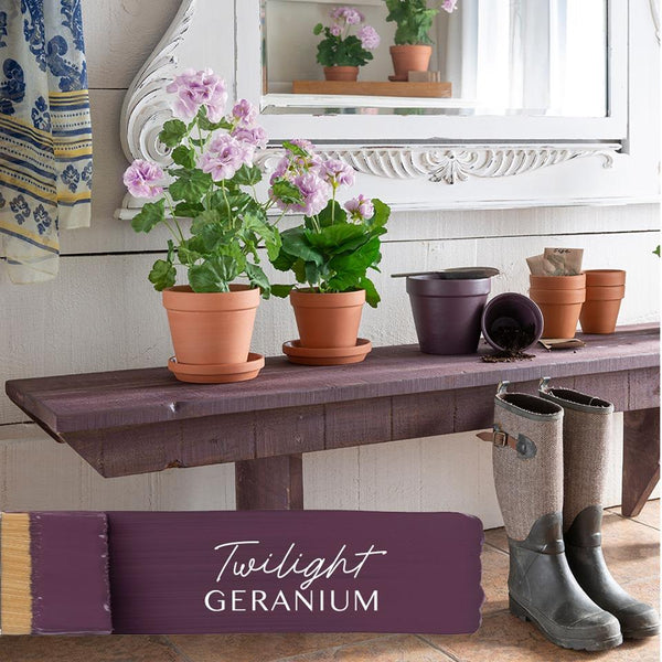 Fusion Mineral Paint Twilight Geranium @ The Painted Heirloom