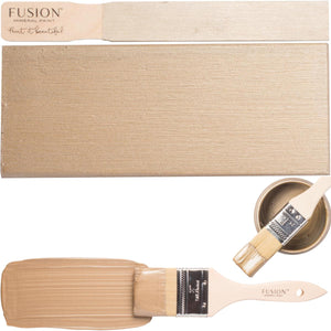 Fusion Mineral Paint Vintage Gold Metallic @ The Painted Heirloom