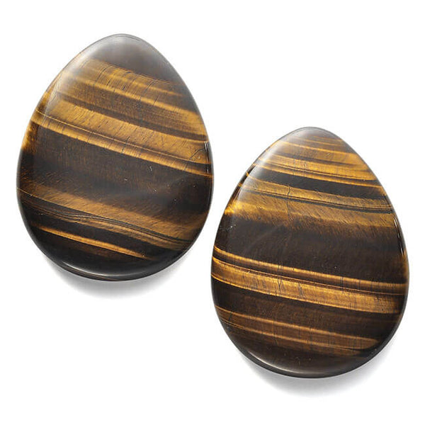 jovivi tiger eye worry stone