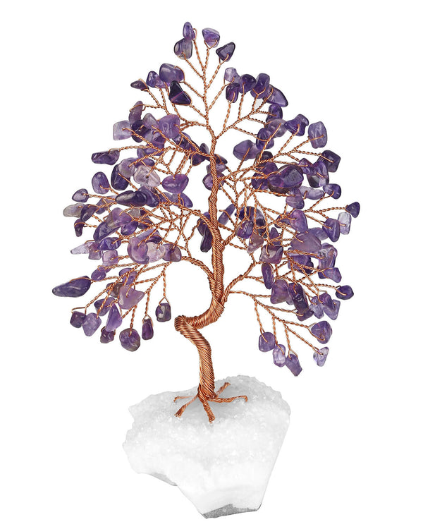 asd036502 jovivi amethyst beaded tree healing crystal  gemstones for home decoration