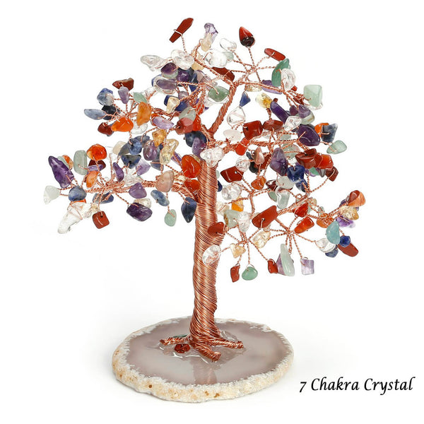 asd039501 jovivi 7 chakras crystal  money tree for home decor healing crystal