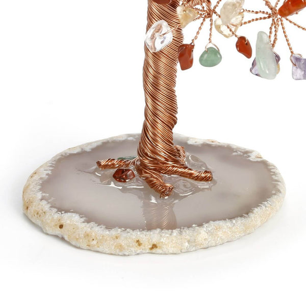 Jovivi Crystal Money Tree Natural Healing Tree Ornament Feng Shui Decoration
