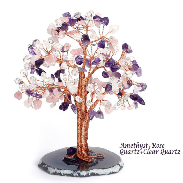 asd039502 jovivi natural amethyst loose beads tree of life home decoration balancing reiki gemstones tree