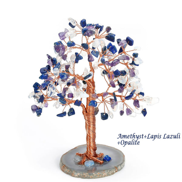 asd039504 jovivi lapis lazuli loose beads gemstones tree reiki healing money tree home decor