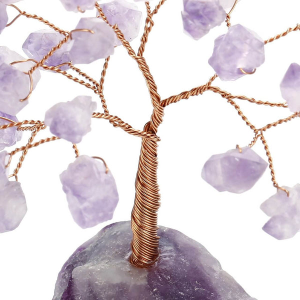 asd040601 jovivi healing crystals copper money tree feng shui decor statue