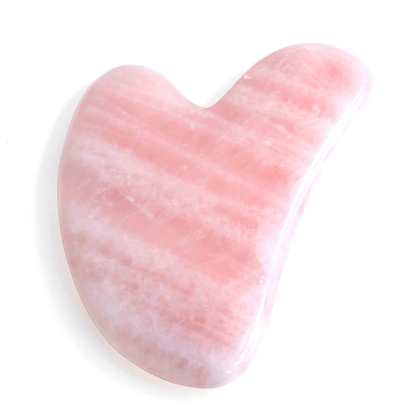 Jovivi Natural Rose Quartz Green Aventurine Gua Sha Scraping Massage Tool body massage guasha scraper tool